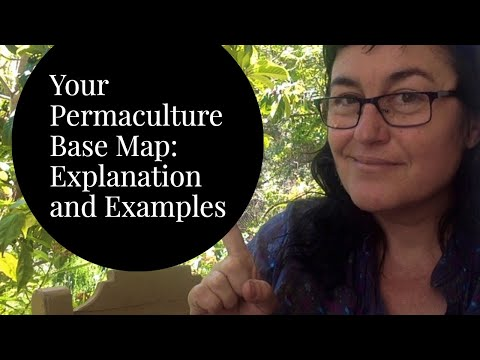 Basics of the Permaculture Base Map