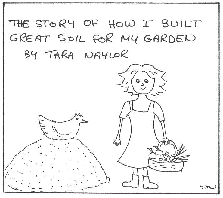 How to build organic garden soil
